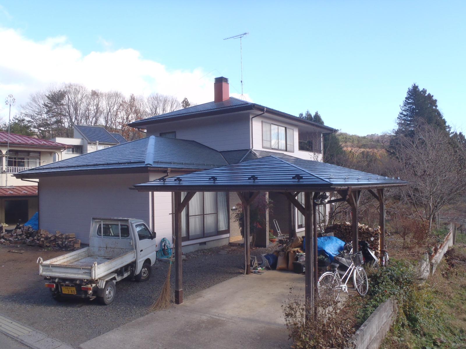 築20年にして初めての塗替えも大成功!家自身、自信を持って建ってるかのようです。