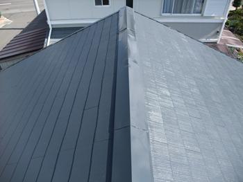 診断をしっかりした上で、家の屋根に合った塗料を提案していただき、塗装も丁寧にしてくれました。